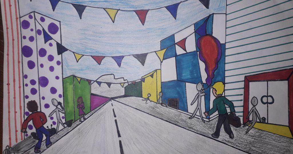 Image may contain: Graffiti, Human, Person, Mural, Painting, Art