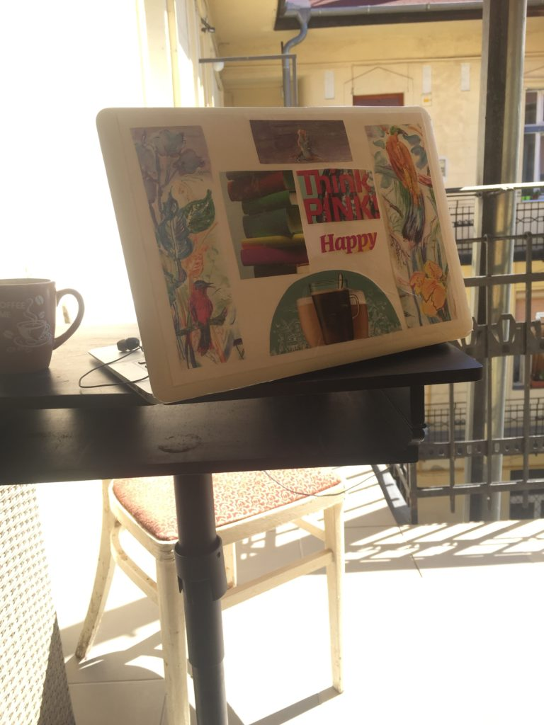 Crafted laptop skin