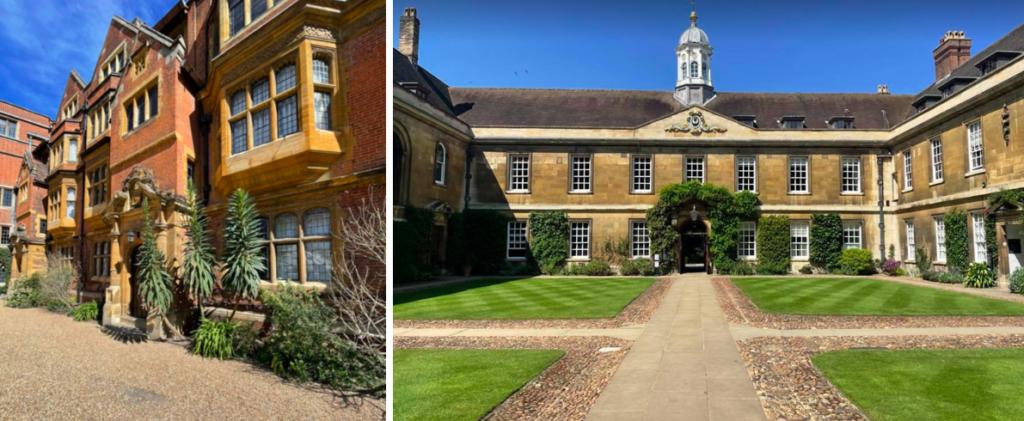 PICTURES OF CAMBRIDGE COLLEGES