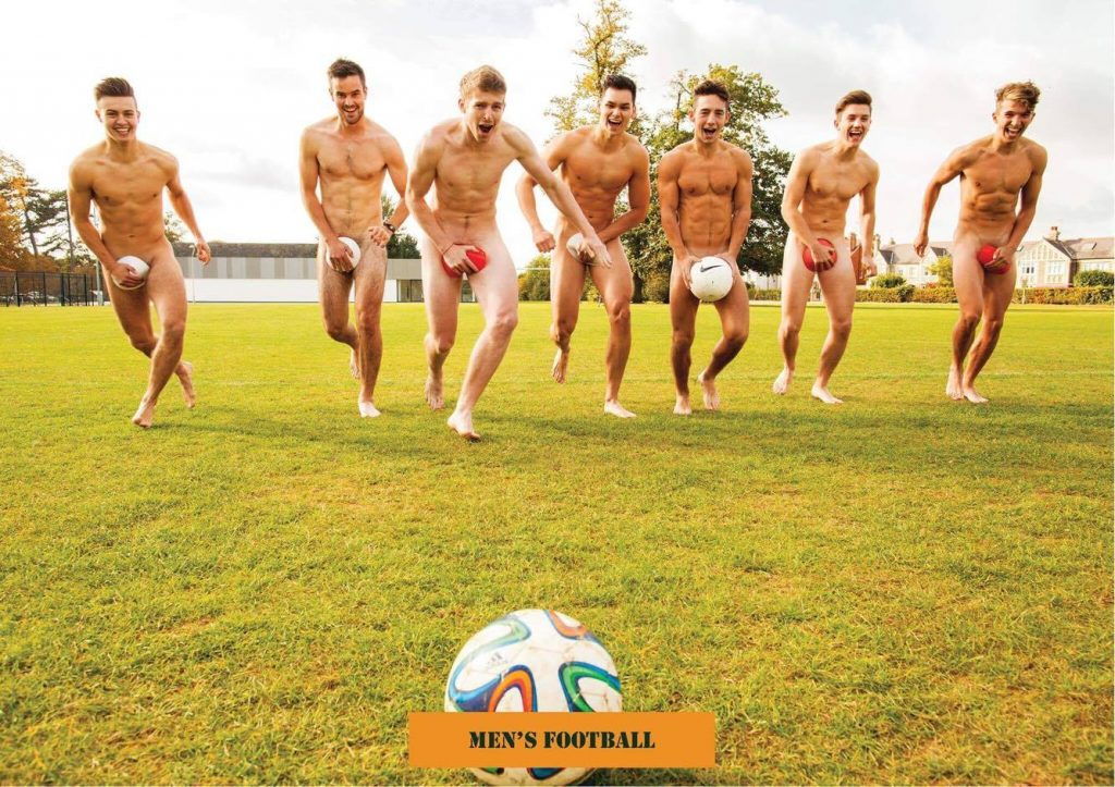 from Ares naked guys playing football