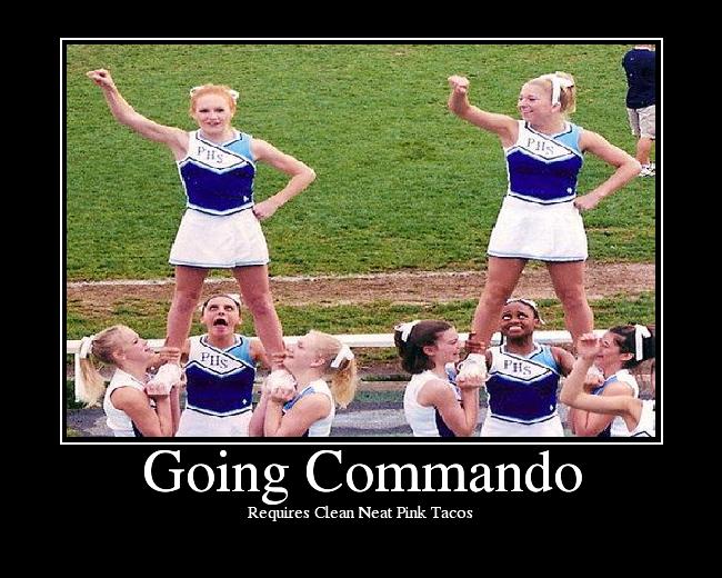 The Fashion Girls Go Commando