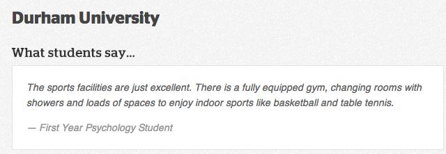 Durham sport