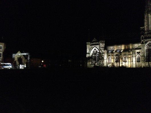 Cathedral night time