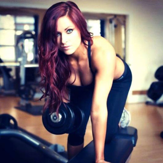Kat now works as a personal trainer in West Yorkshire