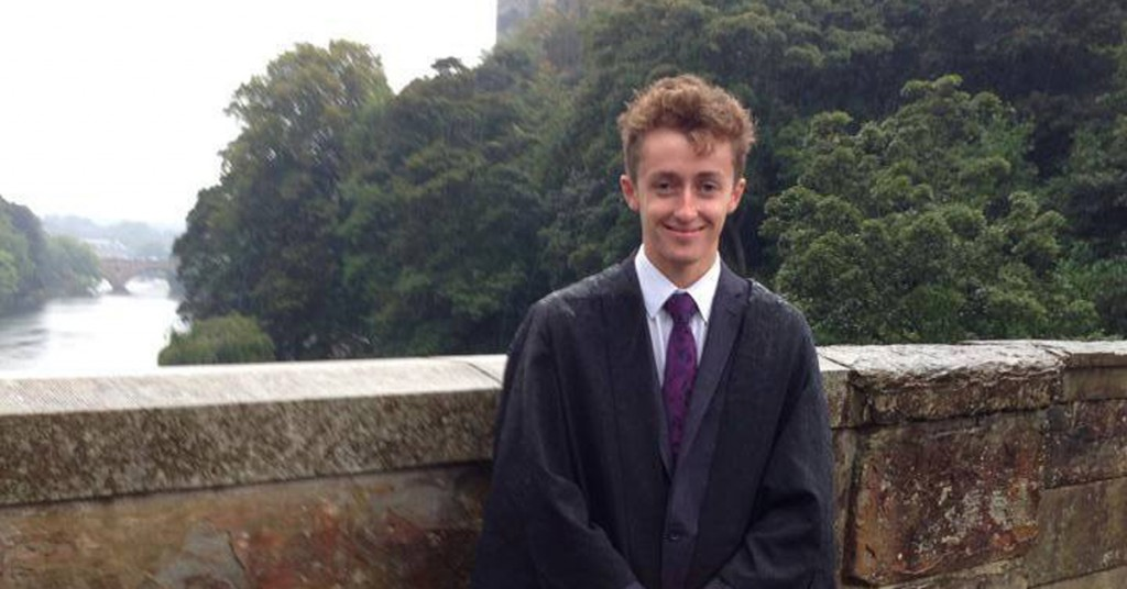 Euan Coulthard disappeared after a night out last Wednesday
