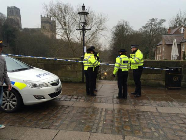 Euan Coulthard was found at Framwellgate Bridge