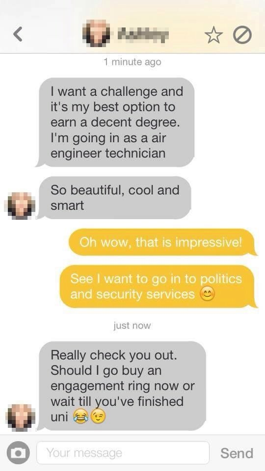 Best first messages on a dating site