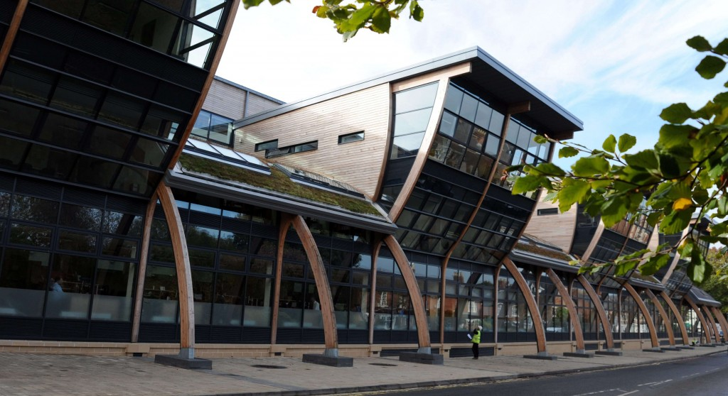 Dated: 19/10/2012   General views of the Palatine Centre at Durham University ..  #NorthNewsAndPictures/2daymedia