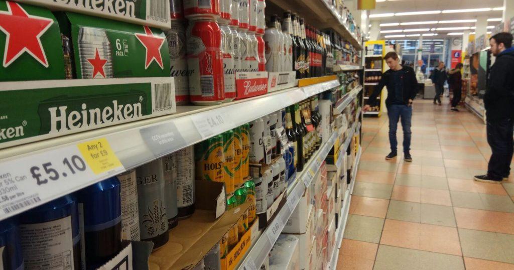 Image may contain: Liquor, Drink, Beverage, Alcohol, Supermarket, Market, Bottle
