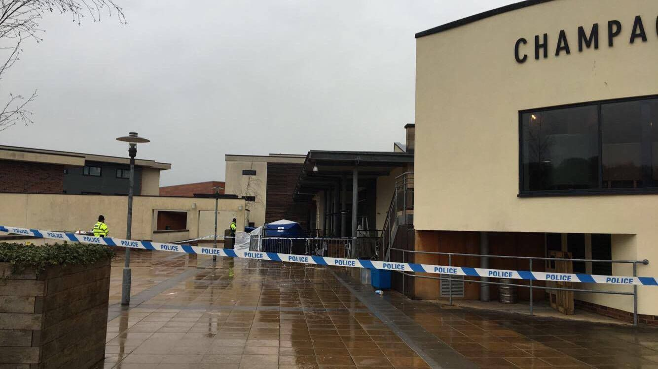 Hampshire student dies following 'serious head injury' outside nightclub