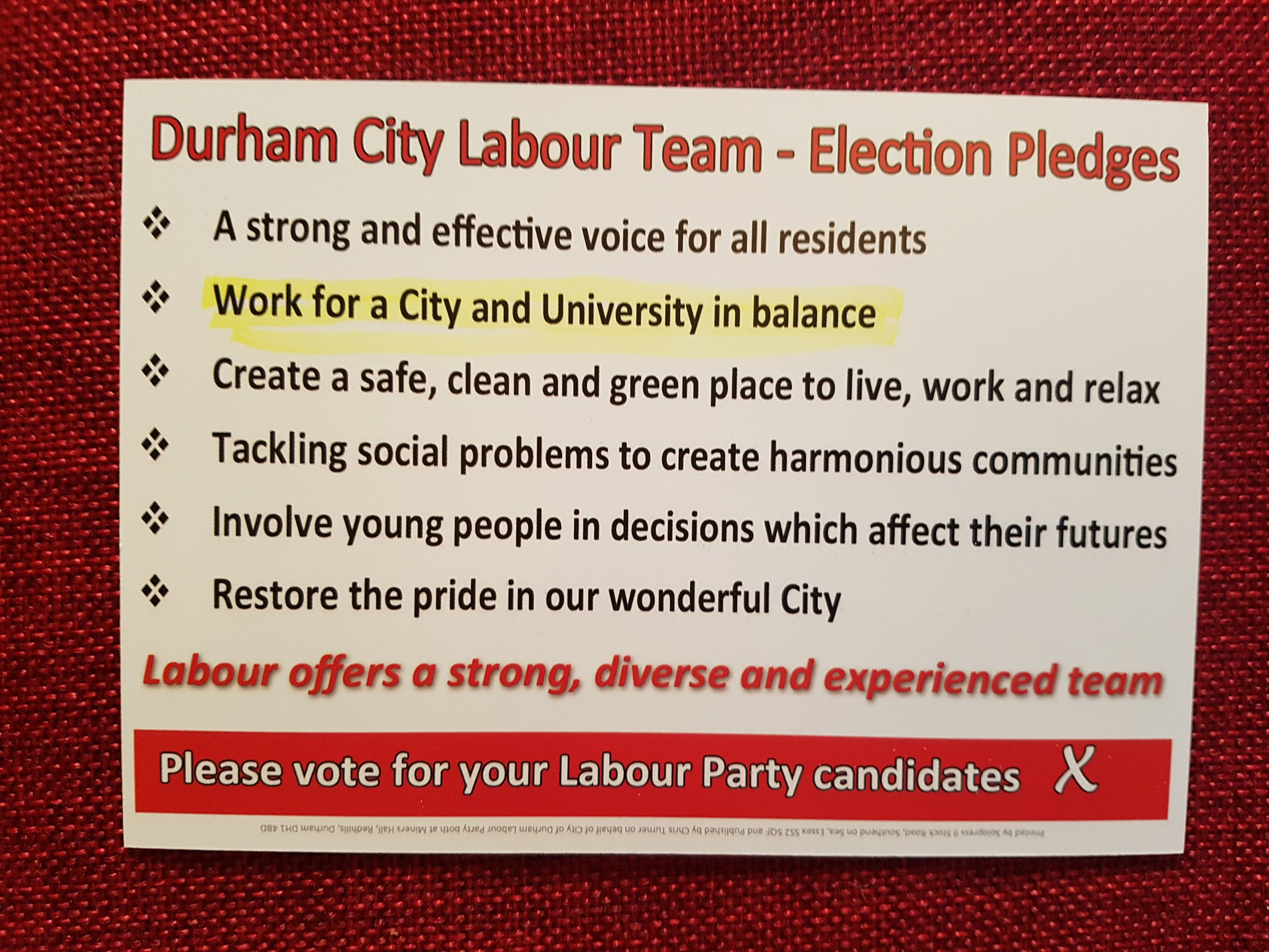 Durham S Parish Council Elections Should Be An Embarrassment For The