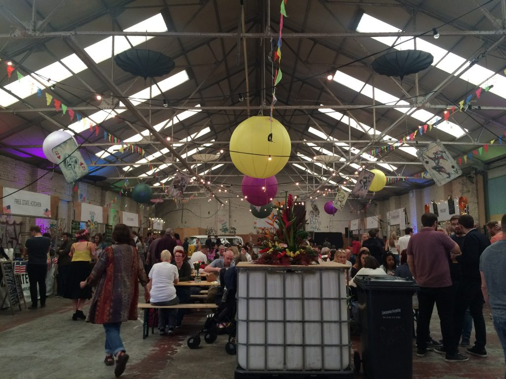 The summer festival that took place at the Great Baltic Warehouse.