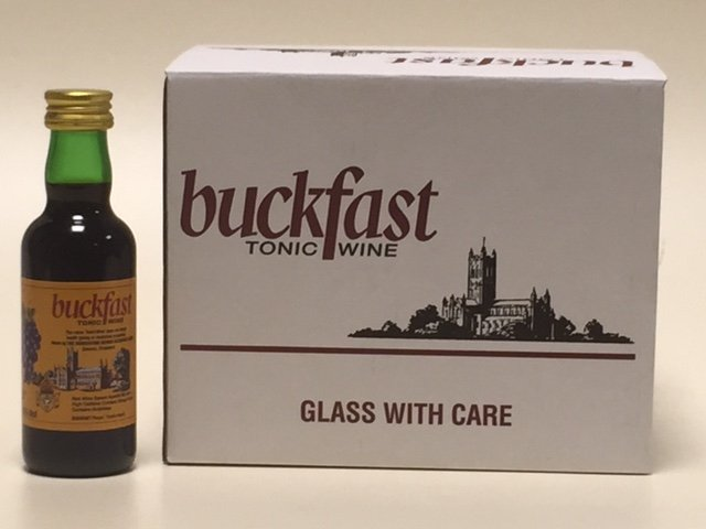 a711d2958f7 You can now buy mini bottles of Buckfast