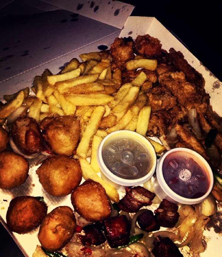 Salt and pepper munchie box, what dreams are made of