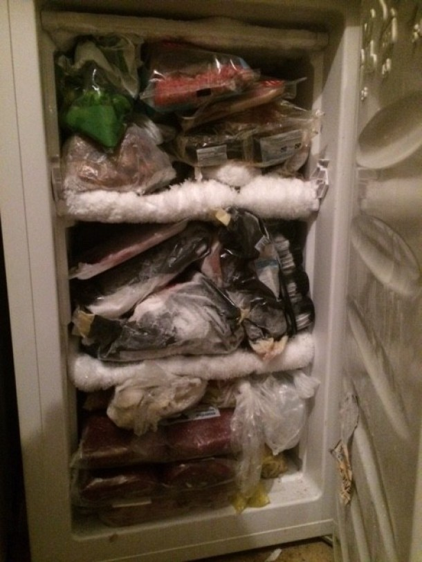 No one's fridge is this full