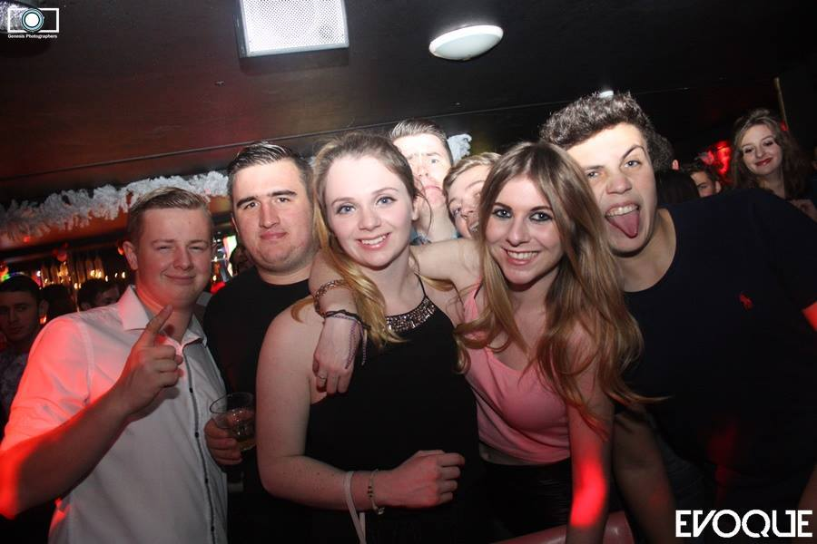 Surrounded by randomers in Evoque, as usual