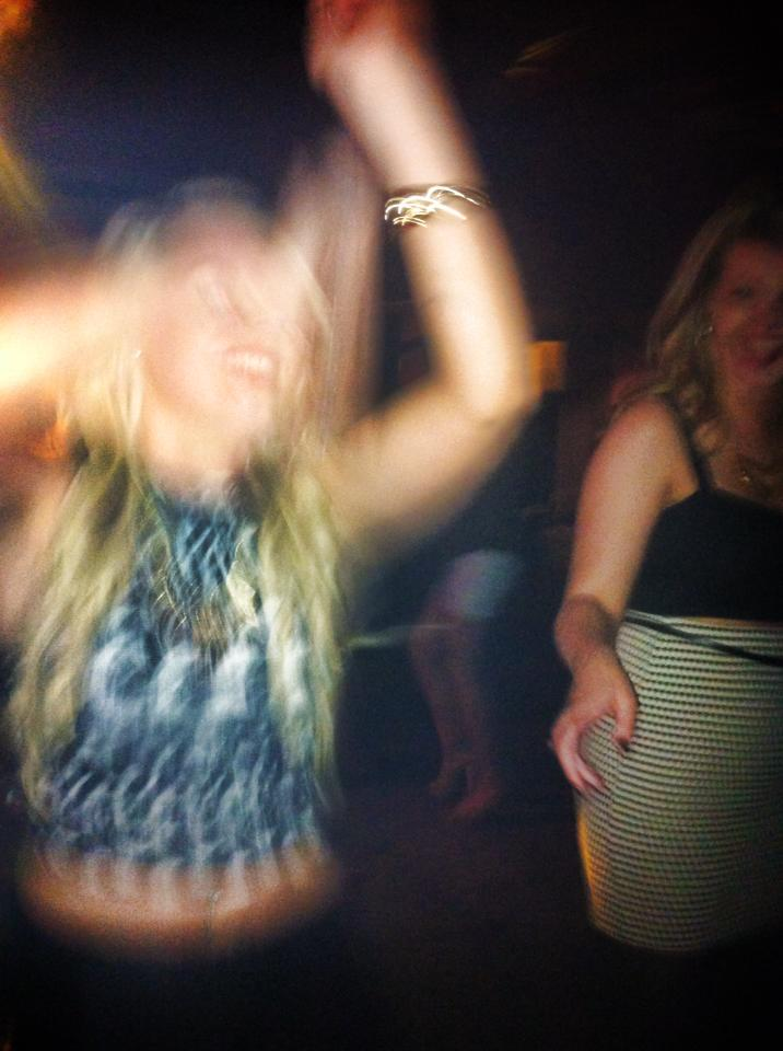 Throwing shapes to cheesy music is our favorite pastime