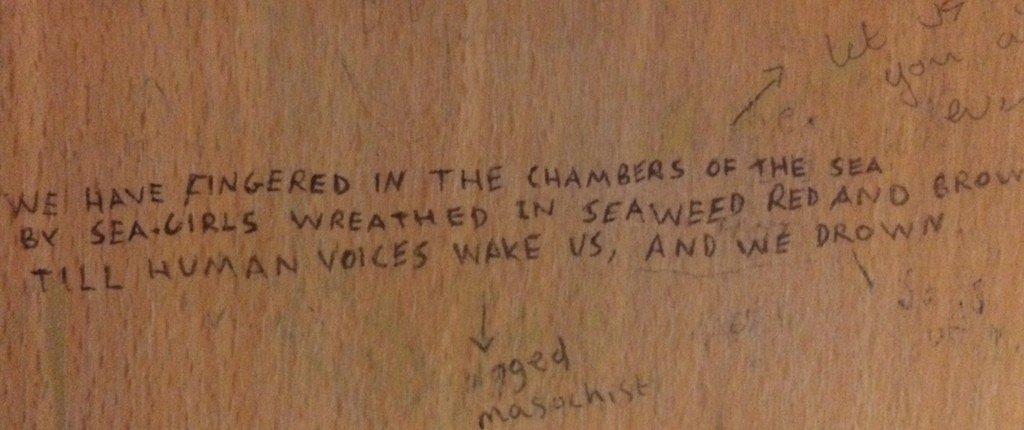 Poetry loos - Thurs