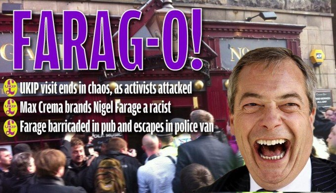 farage splash