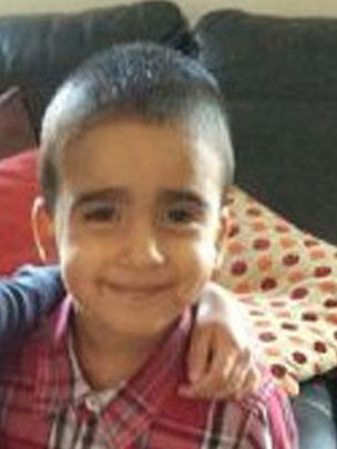 Three-year-old Mikaeel, who went missing on Wednesday.