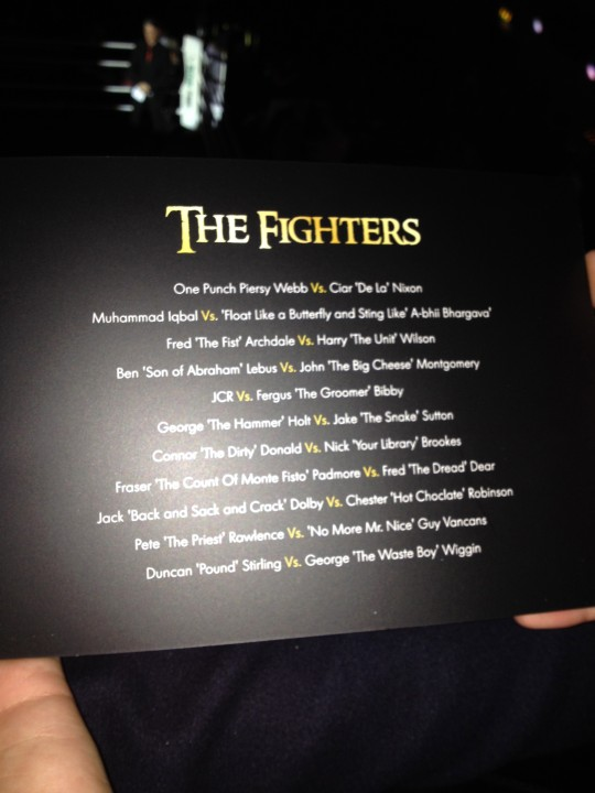 'The Fighters' included some fab names