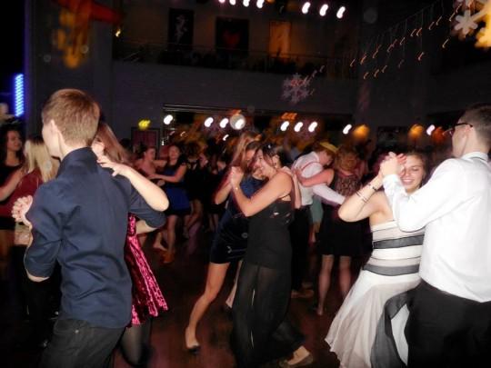 Great dancing skills.