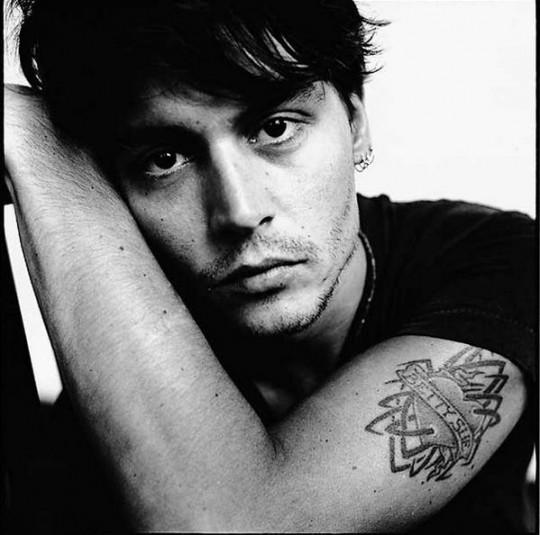 Johnny Depp (photo credit: David Bailey)