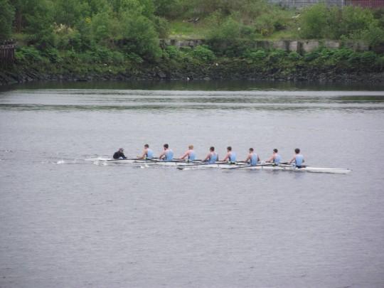 Men's 1st Team in action