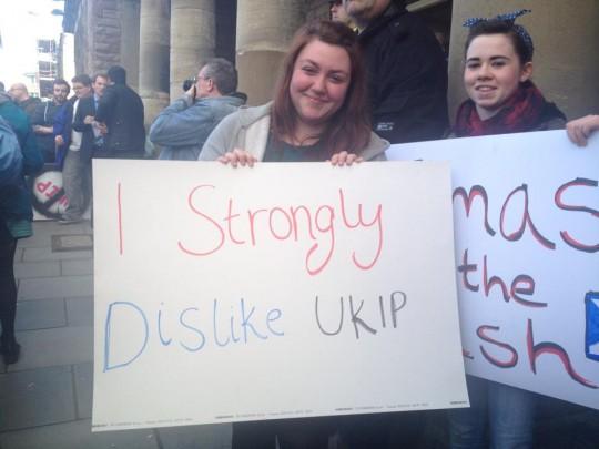 Dislike UKIP