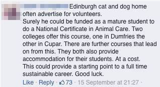 HoE - Comments - Animal Care comment