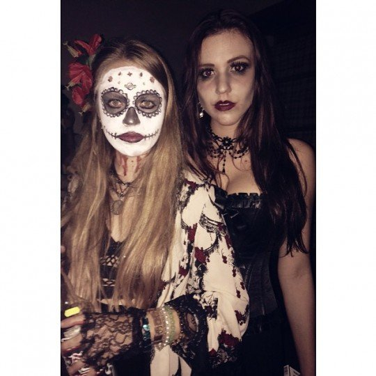Day of the dead indeed.