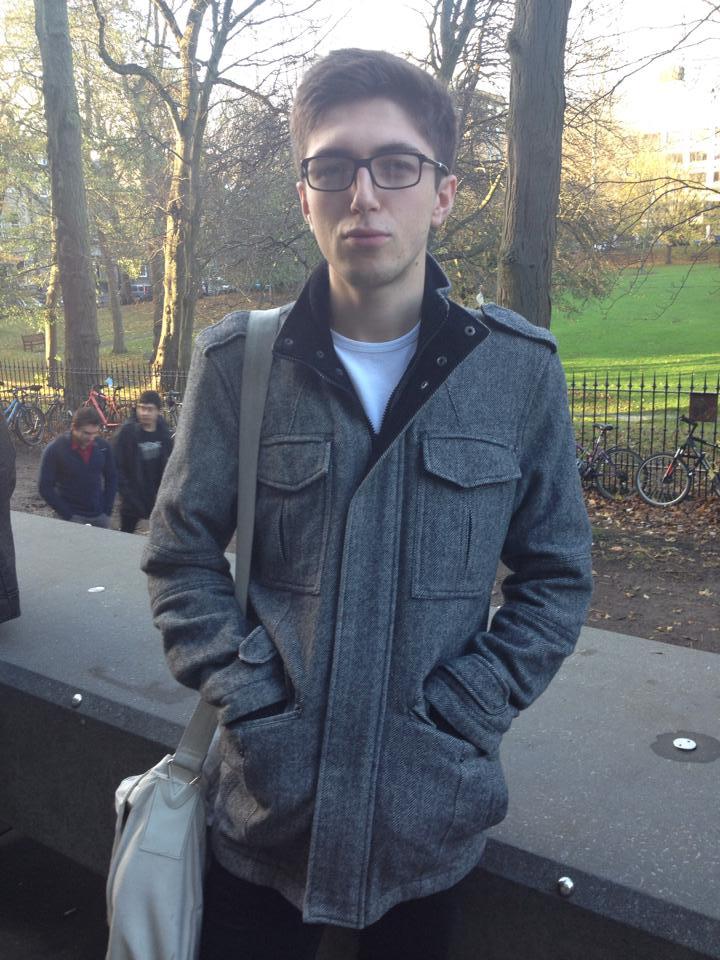 James - fashion savvy linguistic student