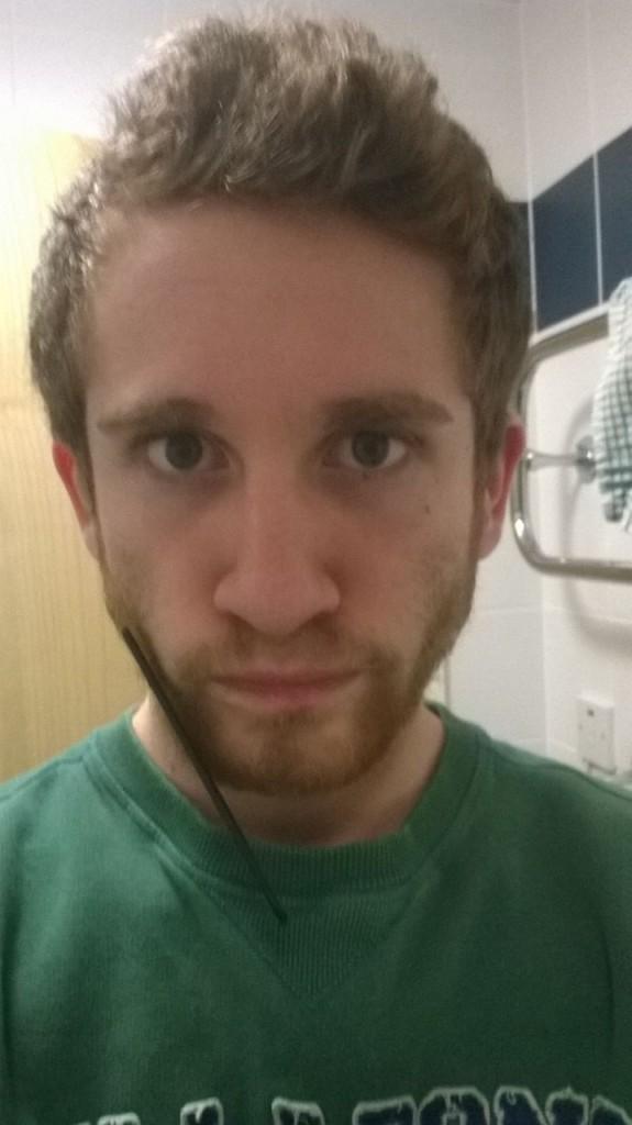 Glen, the moustache wasn't enough