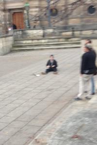 Usual Bristo Square scenes