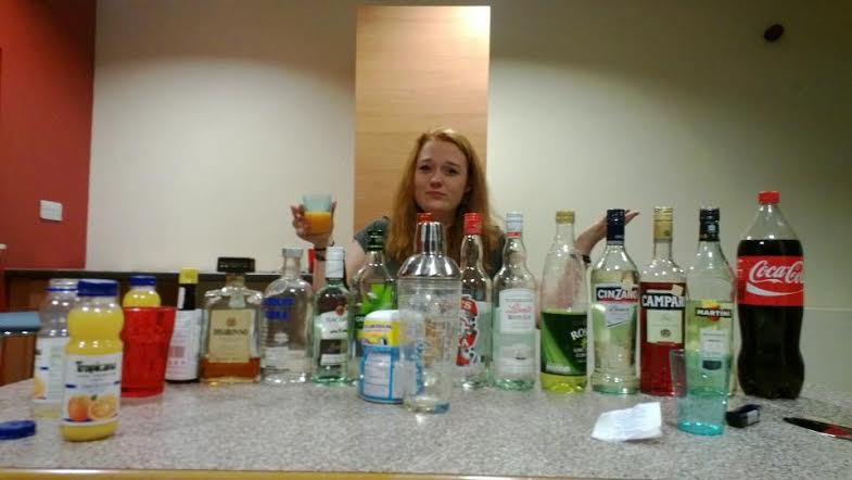 Don't need Christmas to get drunk. Just uni.