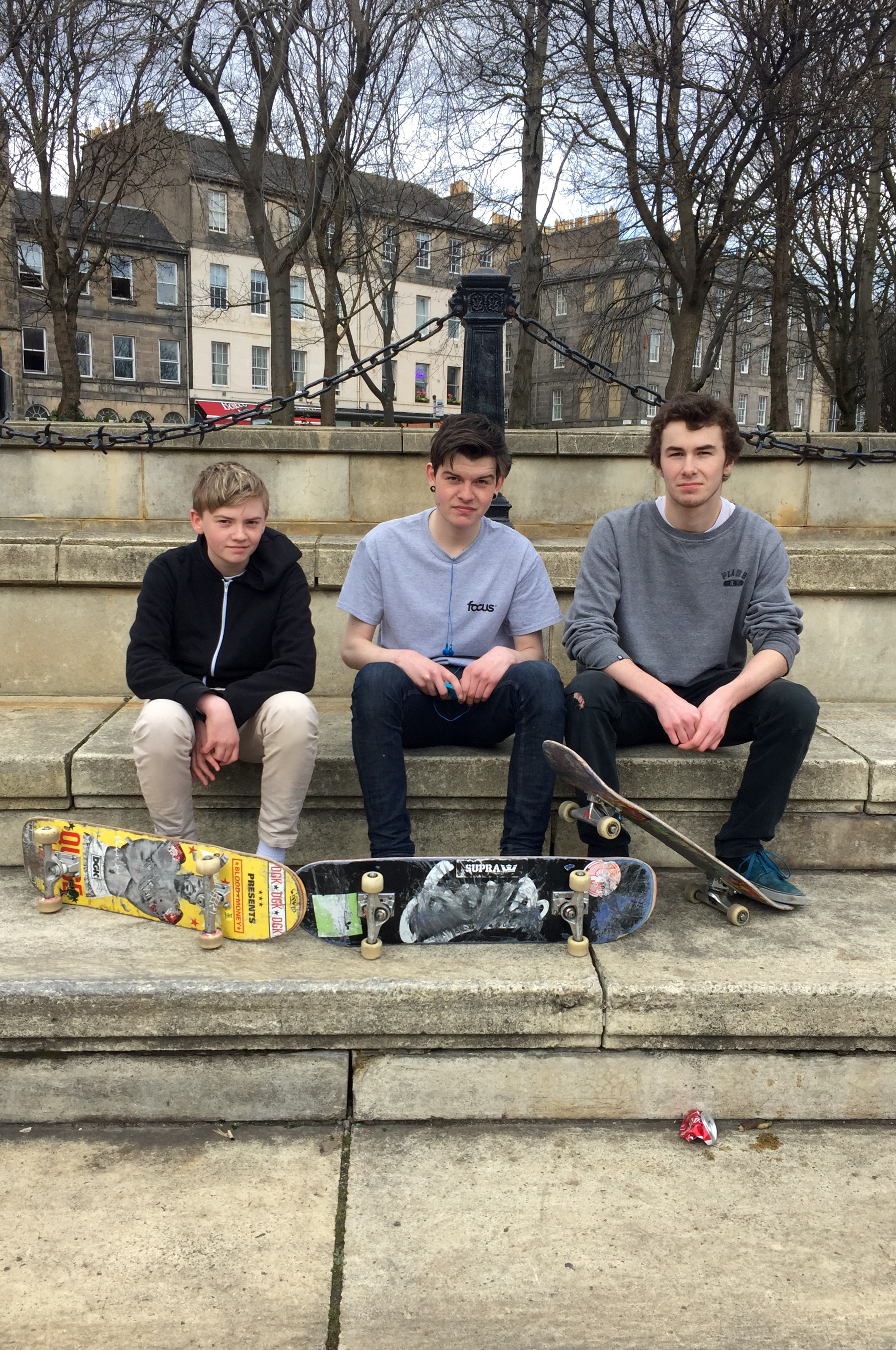 Branden, Ben and Toby