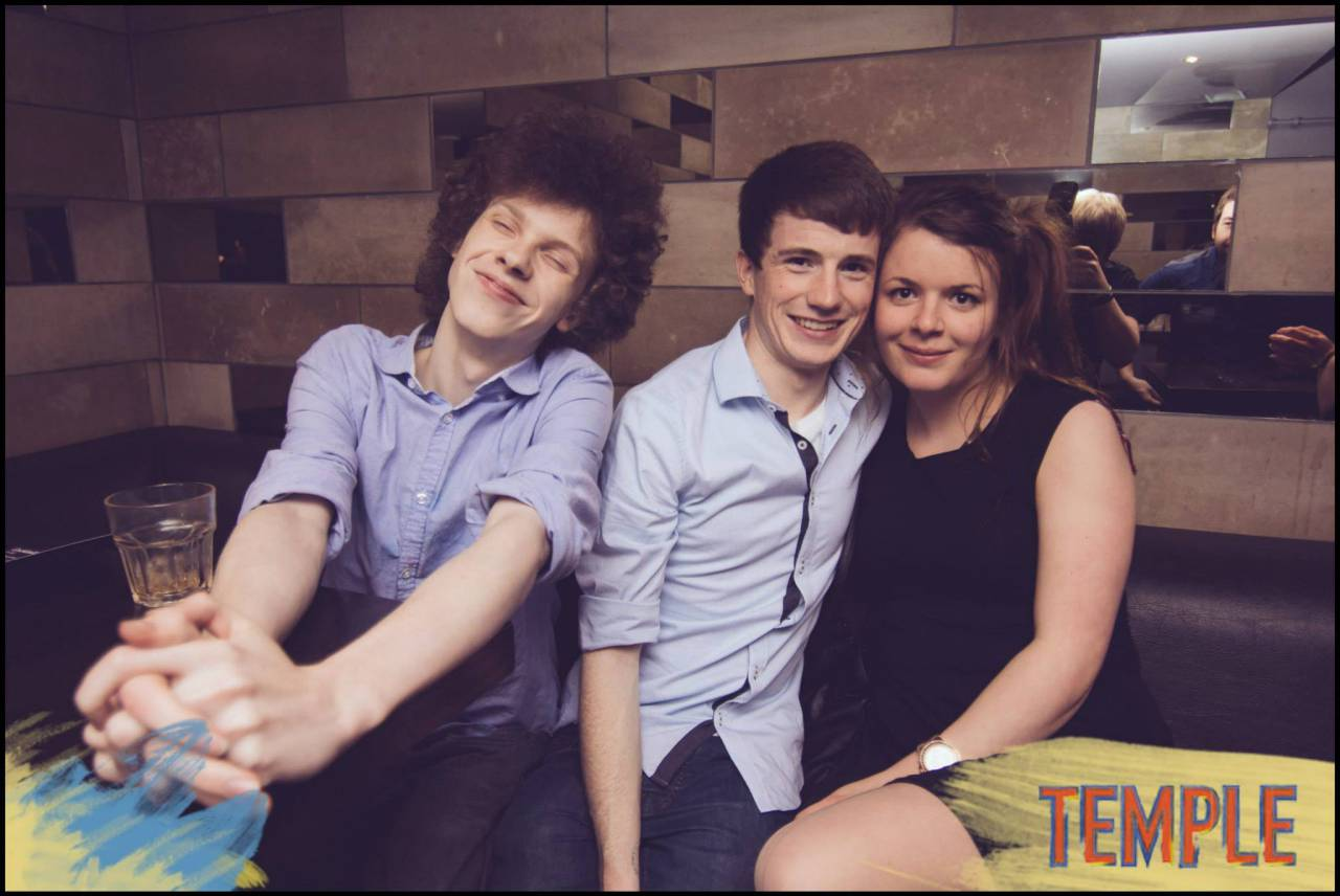 Gloriously third-wheeling and proud