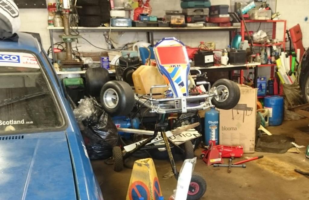 The missing go-kart