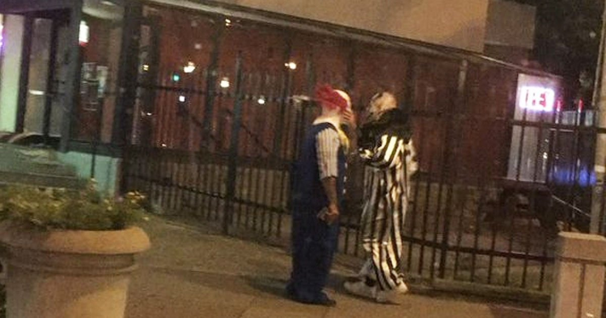 Killer Clowns Reportedly Spotted In Edinburgh