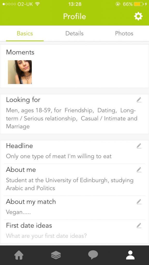 Match first date ideas