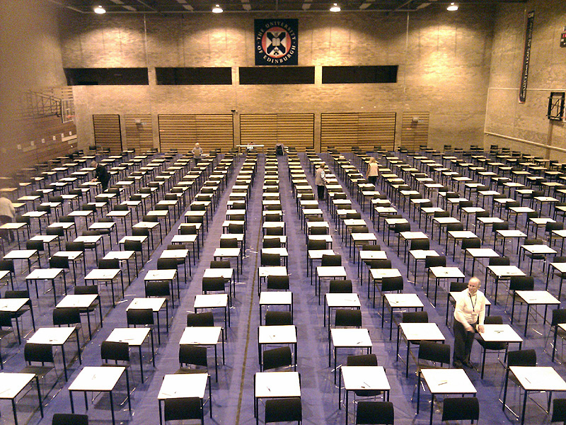 Invigilators Disrupted Exam With A Microphone To Inform