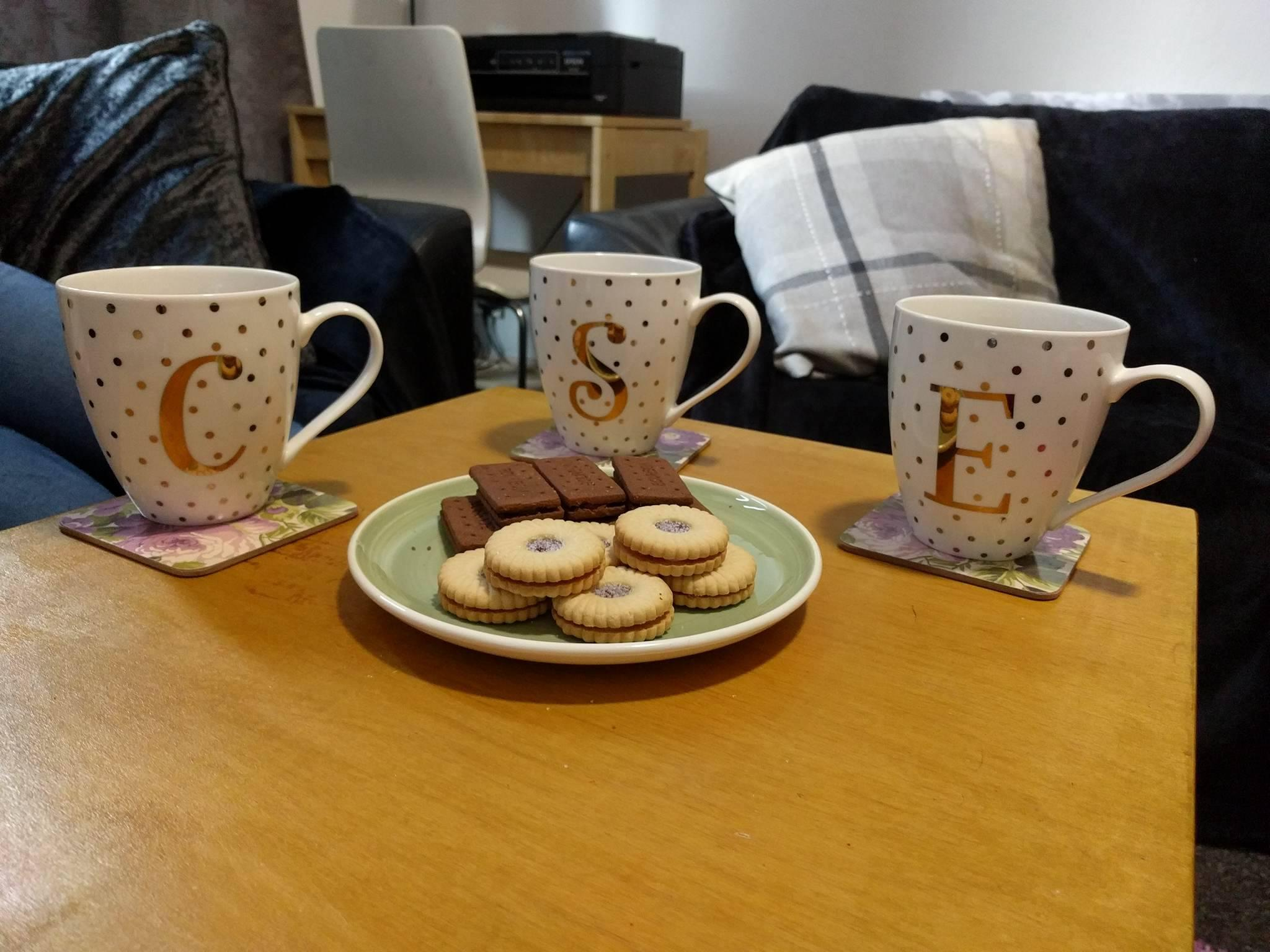 Mums know a cup of tea and a biscuit can solve any problem