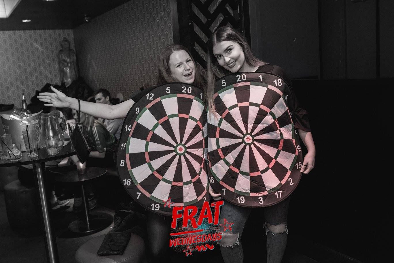 Image may contain: Game, Darts, Person, People, Human