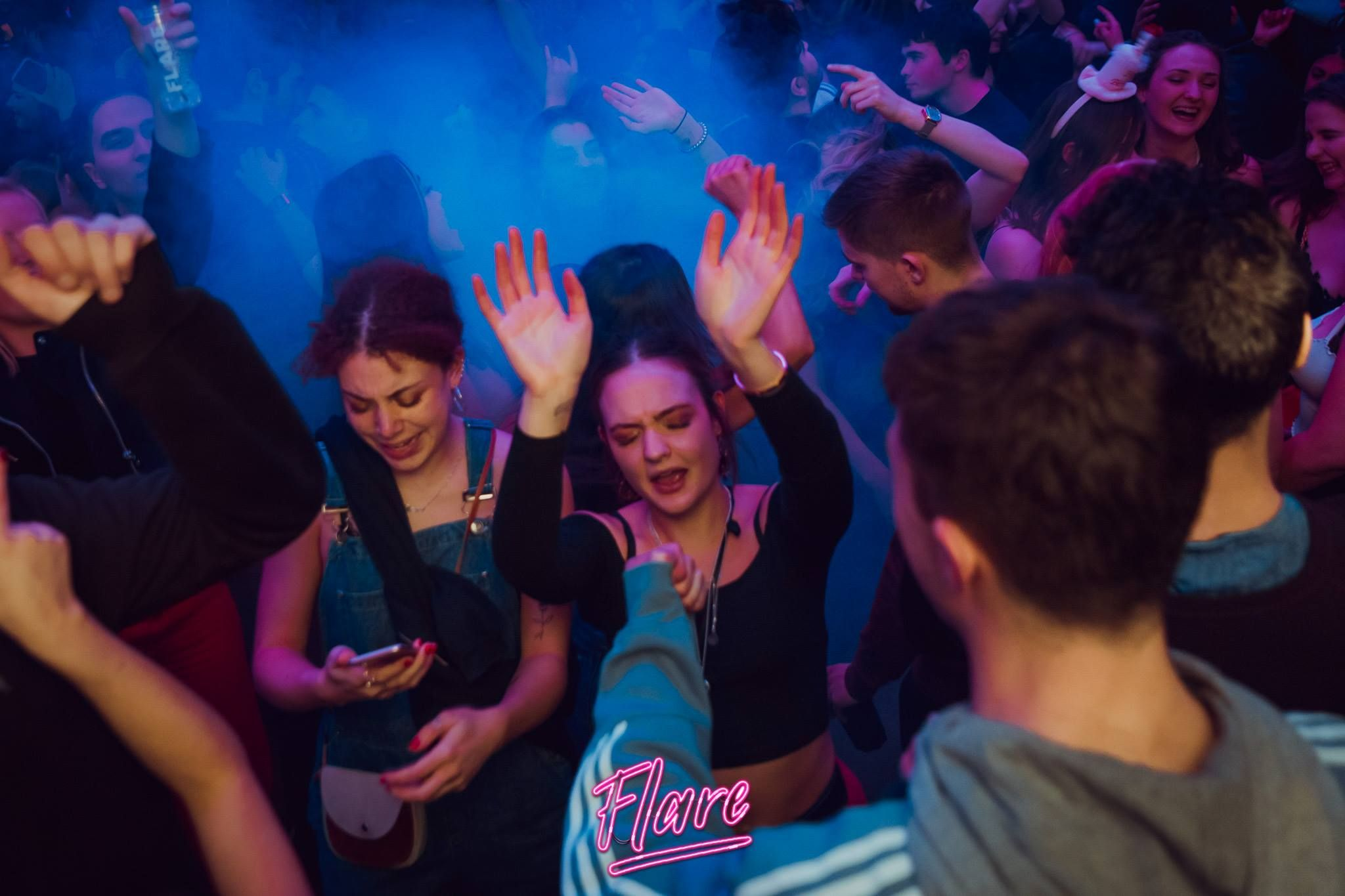 Image may contain: Leisure Activities, Disco, Night Life, Night Club, Party, Club, Human, Person