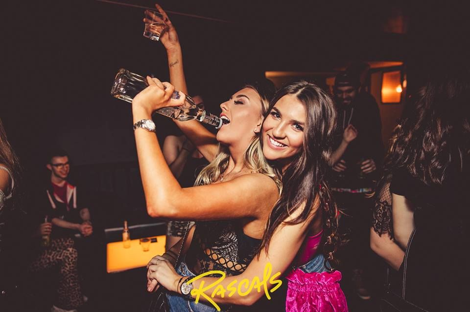 Image may contain: Leisure Activities, Night Life, Night Club, Party, Club, Human, Person