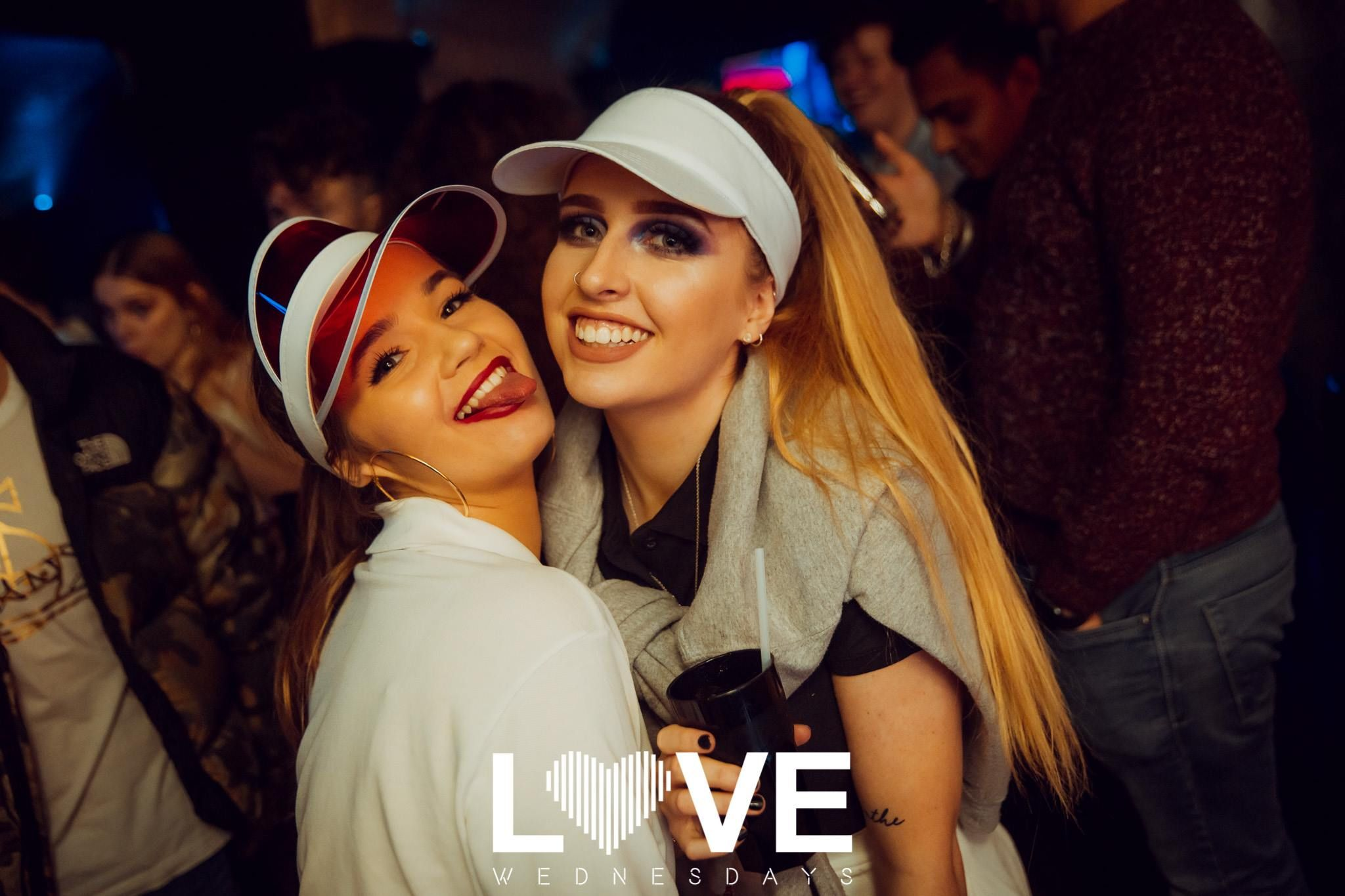 Image may contain: Dating, Face, Sunglasses, Accessory, Accessories, Night Life, Party, Clothing, Apparel, Hat, Night Club, Club, Human, Person