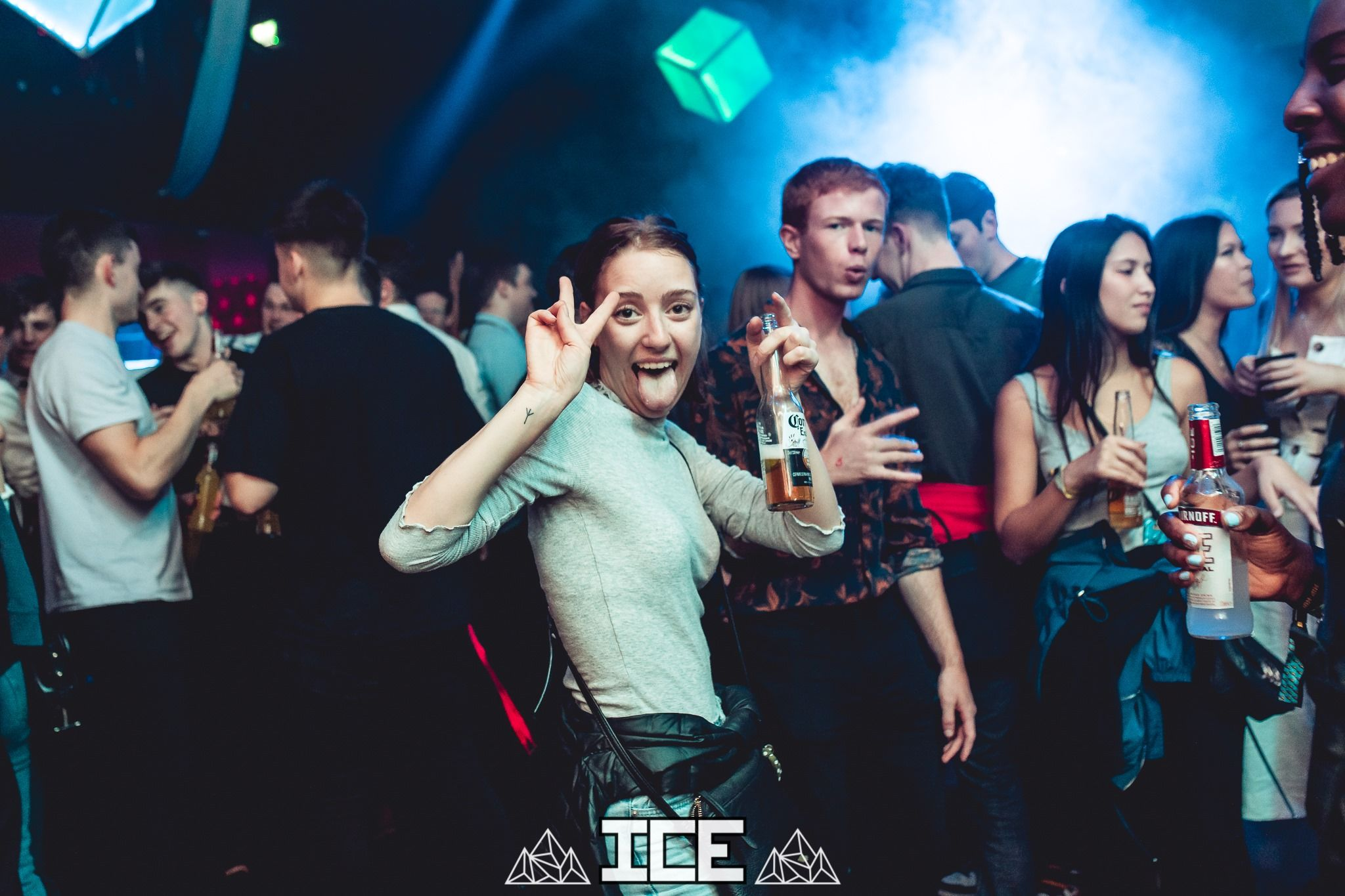 Image may contain: Disco, Night Club, Club, Party, Human, Person