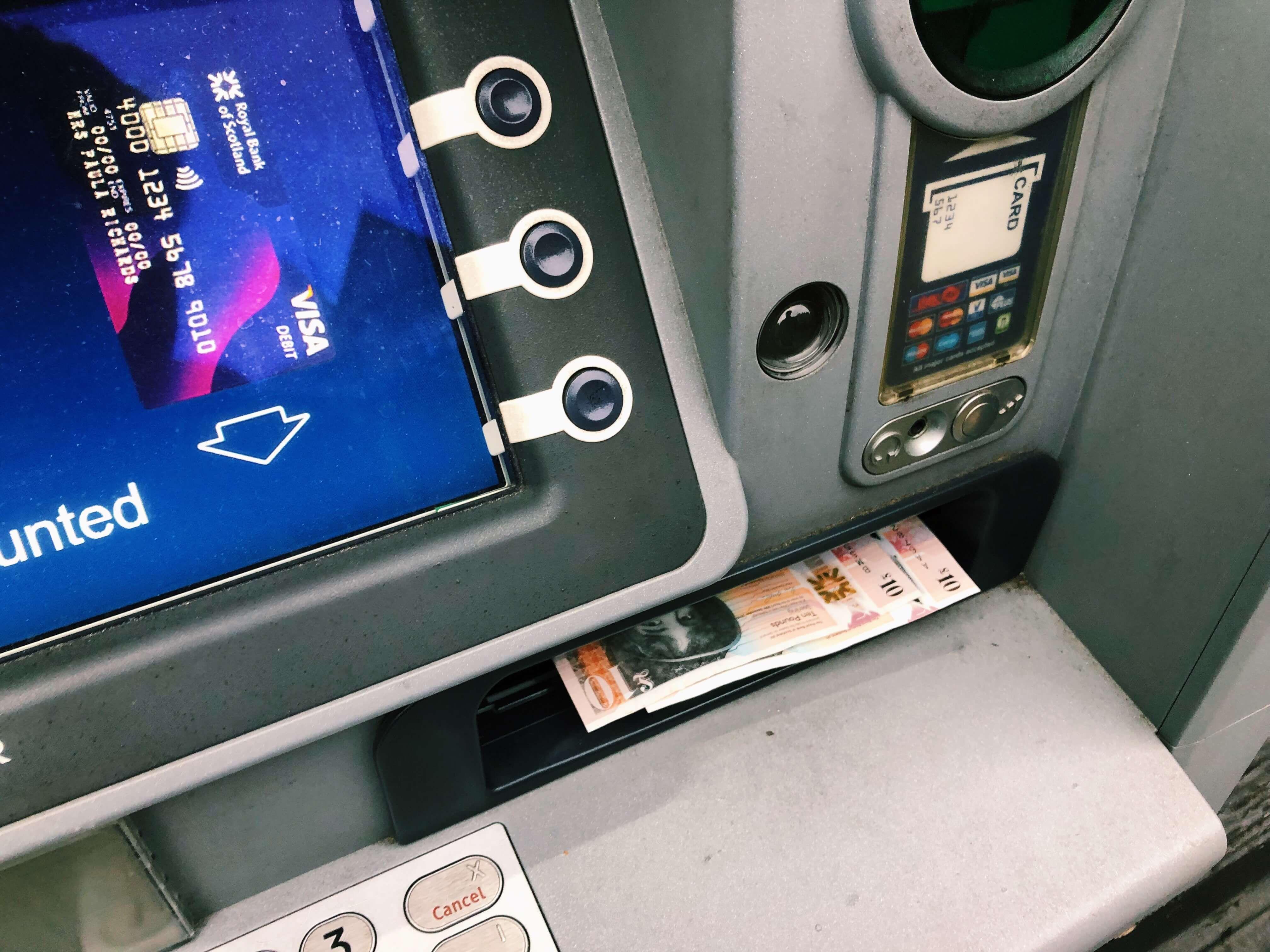 Image may contain: Spoke, Cash Machine, Atm, Machine