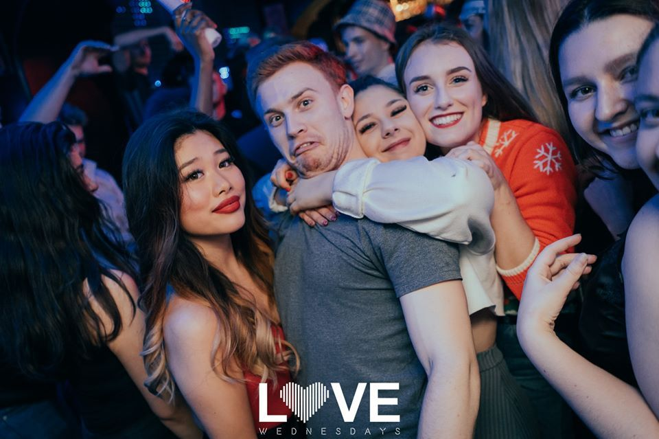 Image may contain: People, Night Life, Night Club, Club, Party, Human, Person