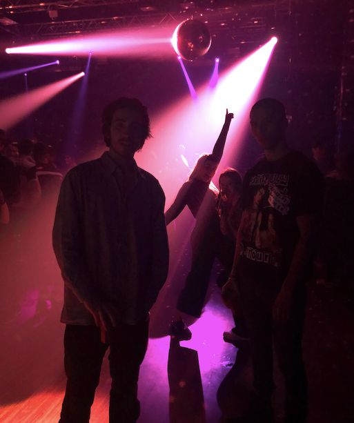 Image may contain: Night Life, Party, Disco, Lighting, Night Club, Club, Person, Human